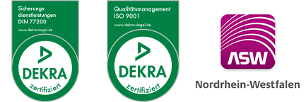 Dekra Logo Qualitästmanagement